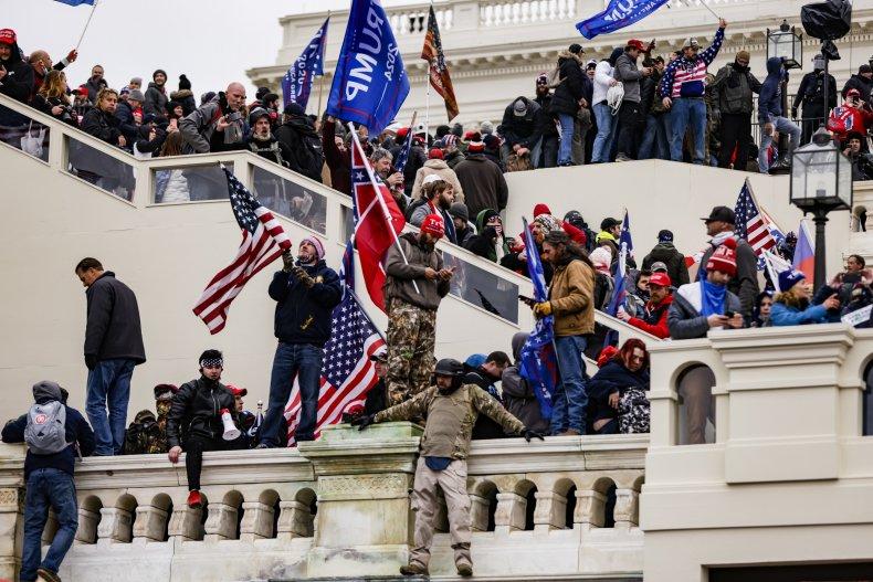 pro-trump supporters breach U.S. Capitol