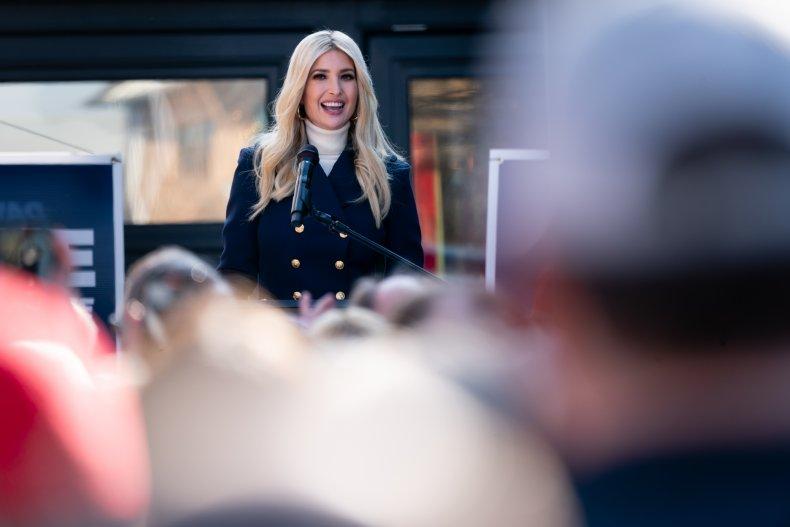 Ivanka Trump American Patriots Capitol Riot