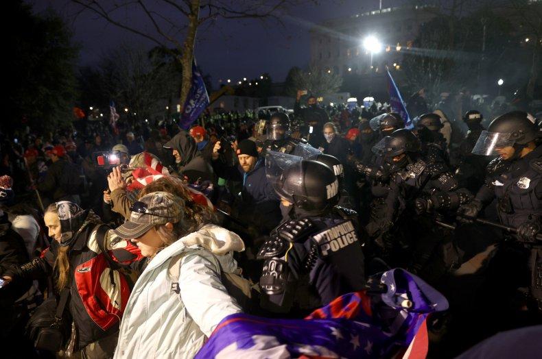 Walter West Texas Republican D.C. riots protest