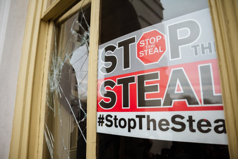 Stop the Steal Capitol Trump Riot
