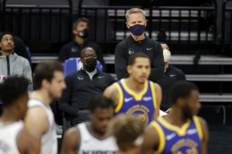 Golden State Warriors head coach Steve Kerr