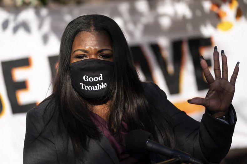 Congresswoman-elect U.S. Rep. Cori Bush