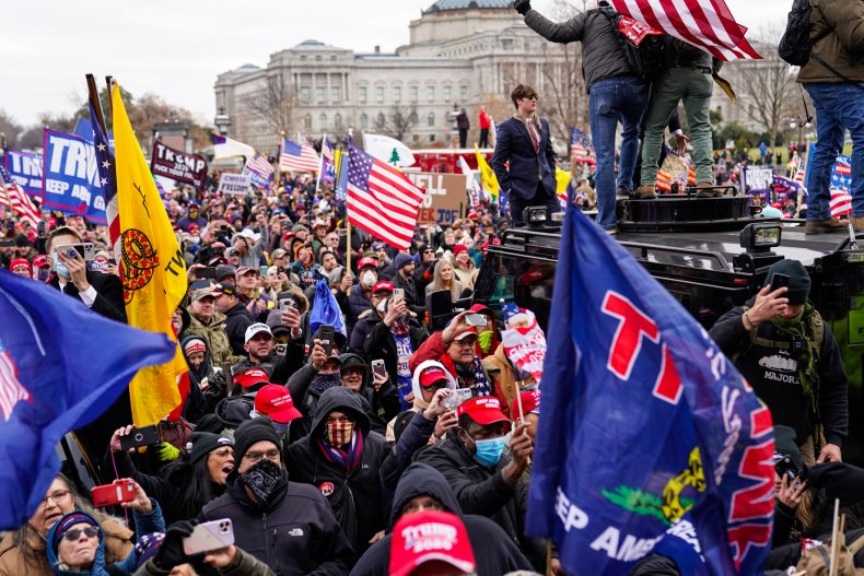 U.S. Capitol protest Trump supporters January 2020