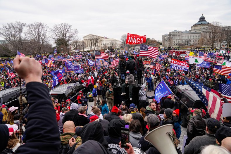 Trump 'Stop The Steal' MAGA Washington rally
