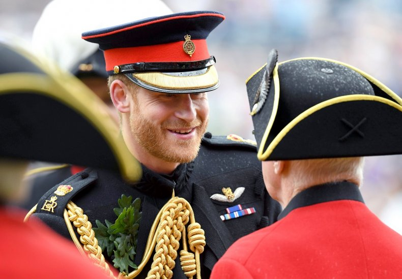 Prince Harry in Uniform at Founders Day