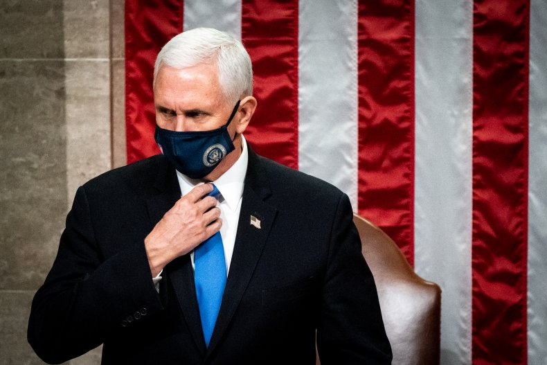 mike pence presides over congress count