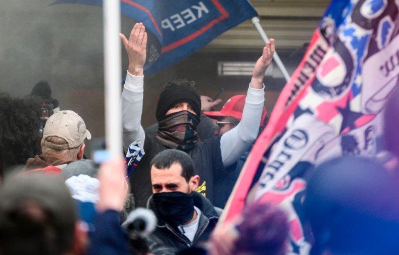 Pro-Trump Protester Capitol Hill