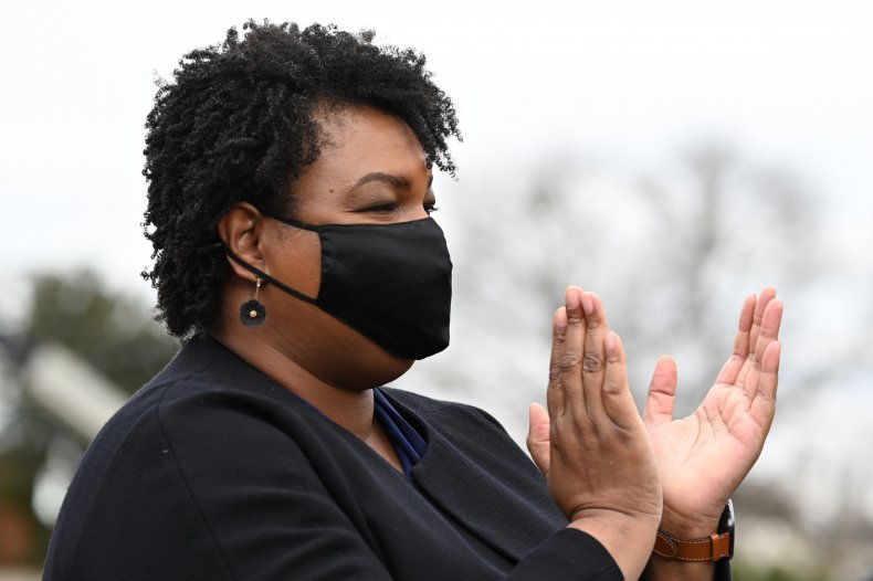 Stacey Abrams campaigns in Georgia