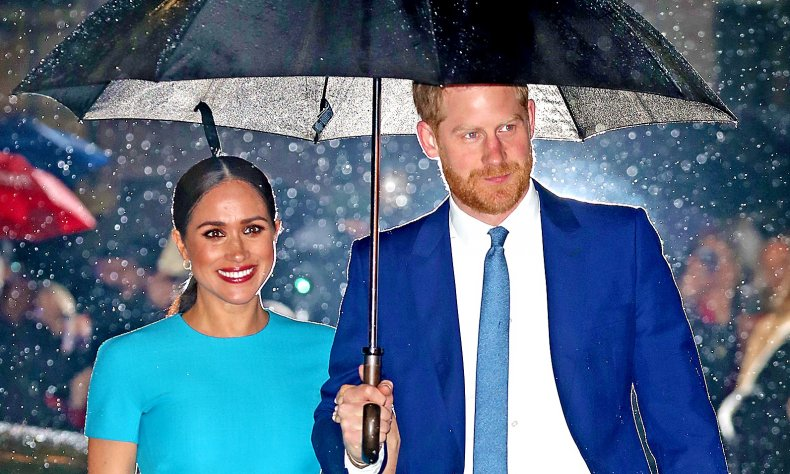 Meghan Markle, Prince Harry at Endeavour Fund