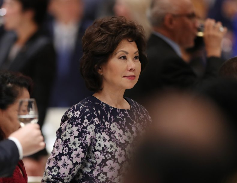 elaine chao at event in tokyo