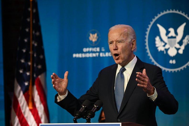 Biden speaks in Wilmington, Delaware