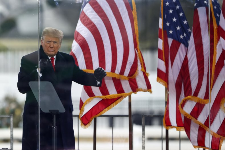 President Donald Trumpon January 6 2021
