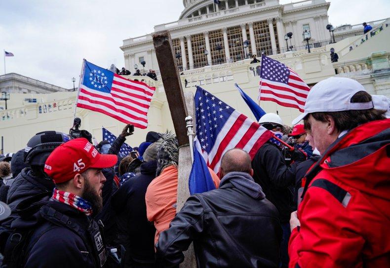 Washington, D.C. Capitol protesters January 2020