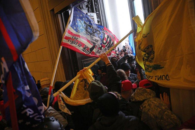 U.S. Capitol building, rioters, riots