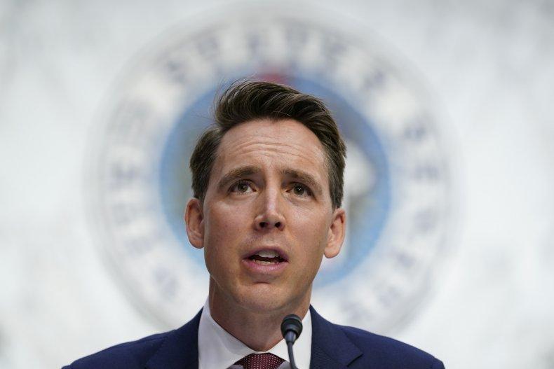 Josh Hawley Calls Axed Book Deal 'Orwellian'