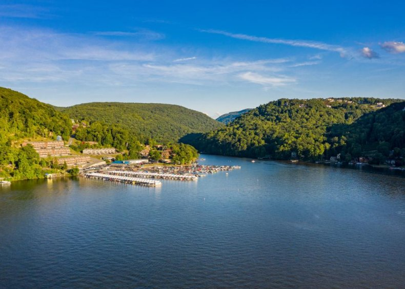 West Virginia: Cheat Lake