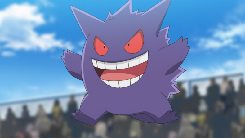 pokemon gengar ash anime