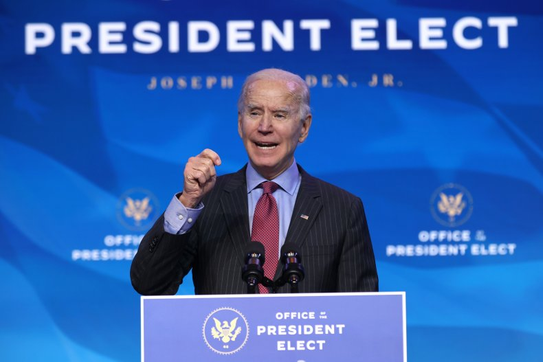 Joe Biden speaking