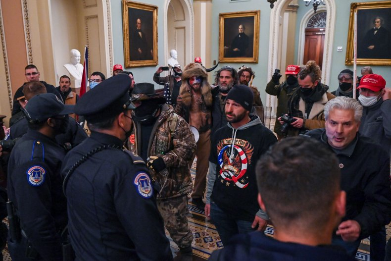 Capitol rioter Doug Jensen charged