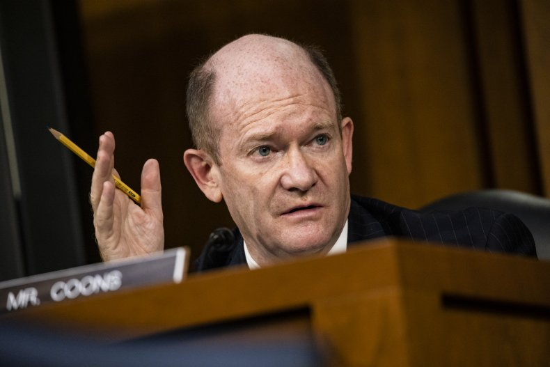 Chris Coons, U.S. Senate, Donald Trump, Election