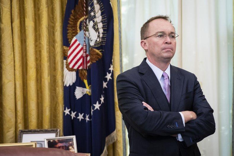 Mick Mulvaney, Donald Trump, White House