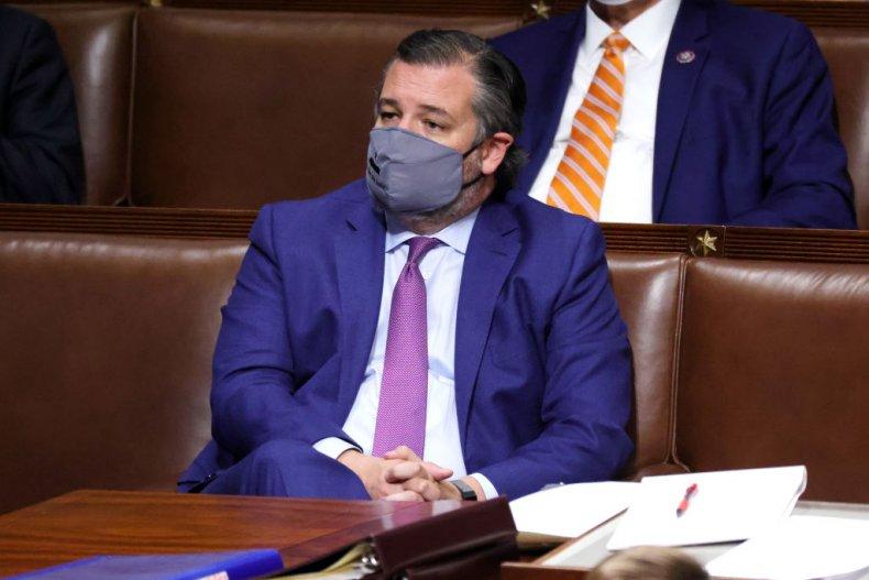 Republican Senator Ted Cruz