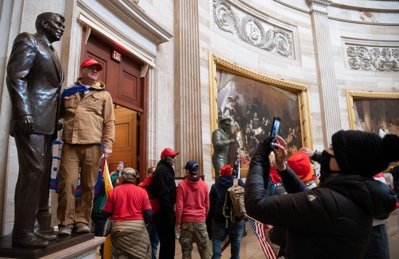 Capitol riots January 2020