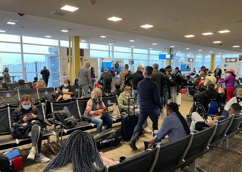 Ronald Reagan National Airport, Virgina, December 2020