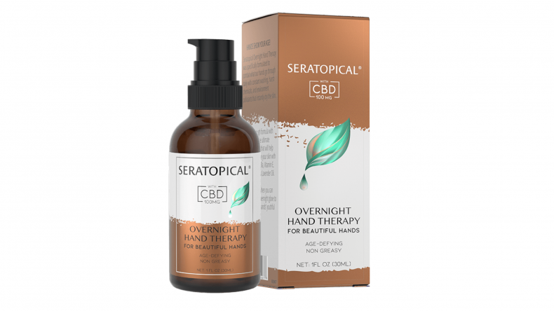 SERATOPICAL Overnight Hand Therapy