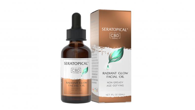 SERATOPICAL Radiant Glow CBD Facial Oil