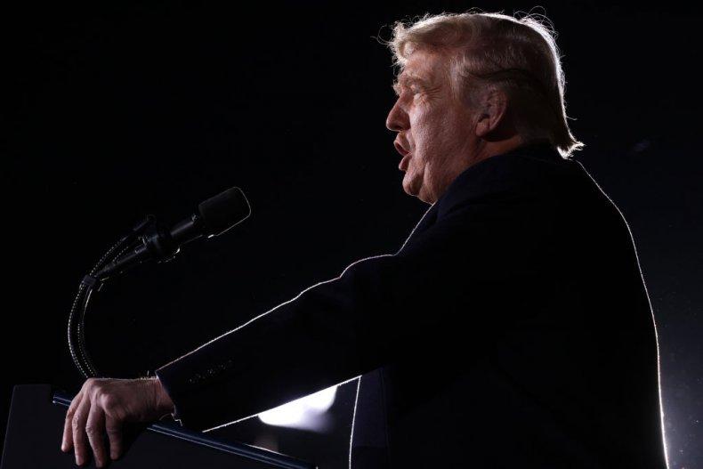 President Donald Trump in Georgia