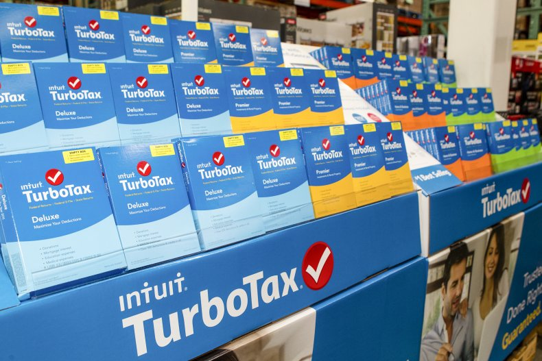 TurboTax boxes California store January 2016