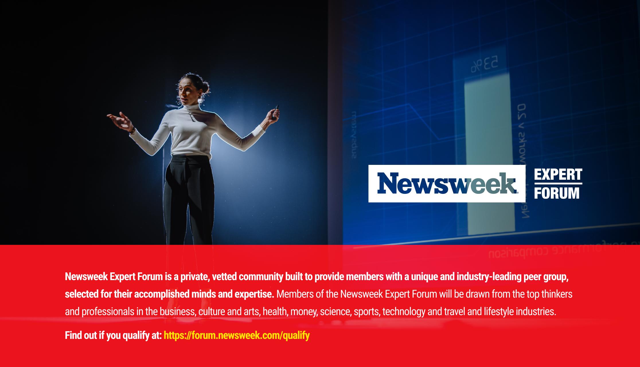 Newsweek Expert Forum