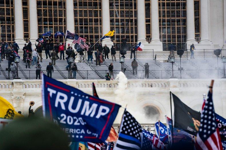 Riots At Capitol Building in Washington DC