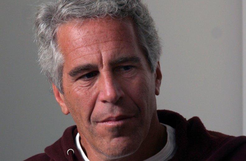 Jeffrey Epstein in Harvard University Hoodie