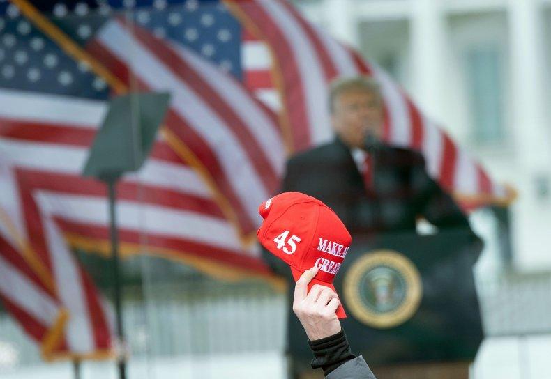 Trump Rally in DC January 6, 2021