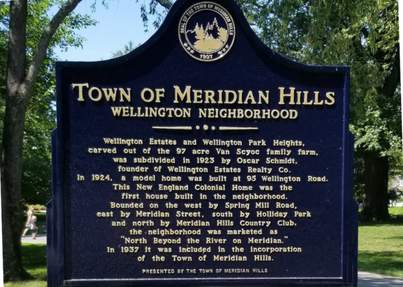 #94. Meridian Hills, Indiana