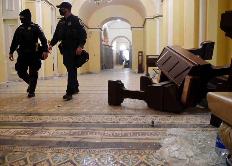 Capitol Police officers suspended