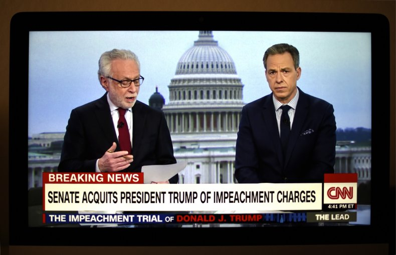 Wolf Blitzer and Jake Tapper