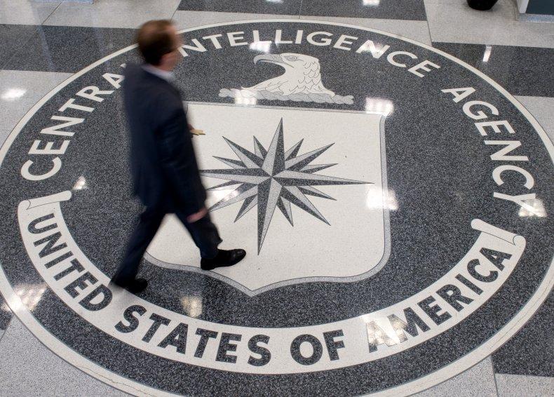 Central Intelligence Agency Logo on Floor
