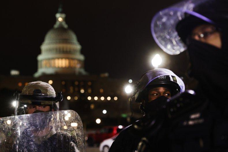 brandon fellows capitol riot biden inauguration violence