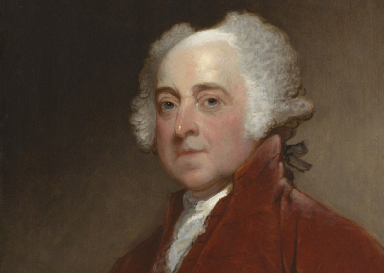 1800: First White House president