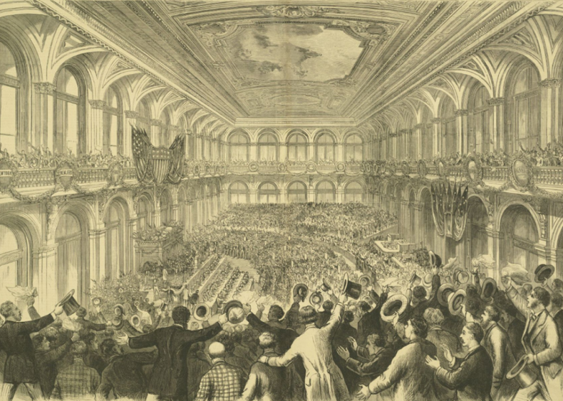 1831: First convention to nominate candidates for president