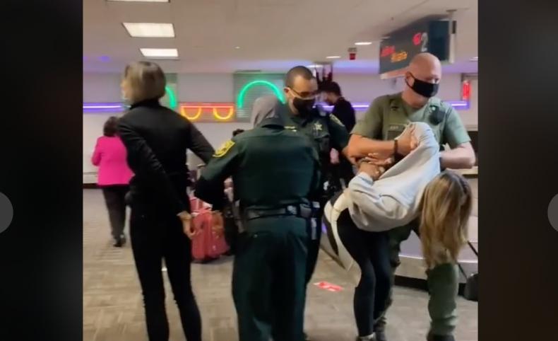 TikTok Video Women Arrested Florida Airport
