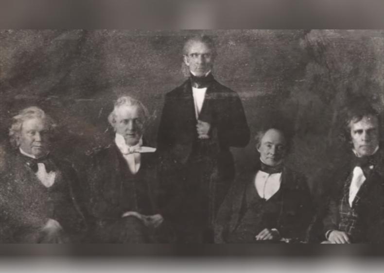 1844: First dark horse candidate