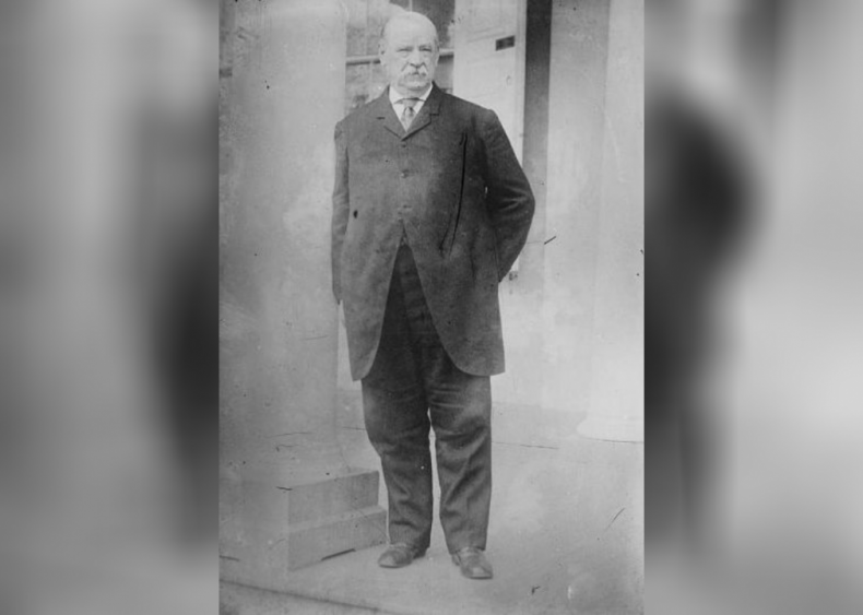 1885: First president to serve separate terms