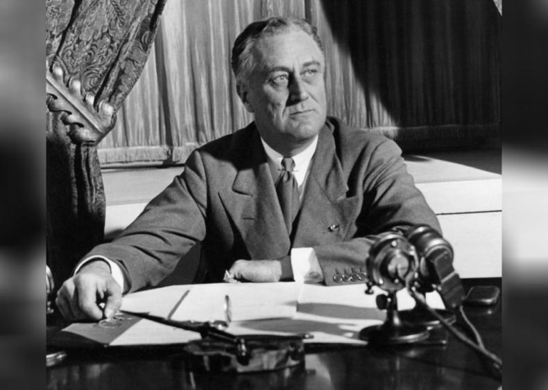 1933: First four-term president