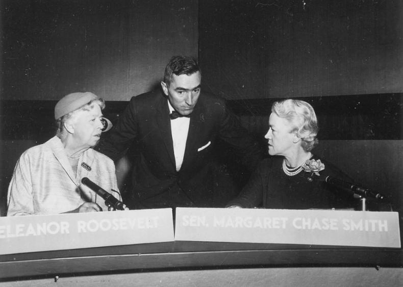 1956: First televised presidential debate