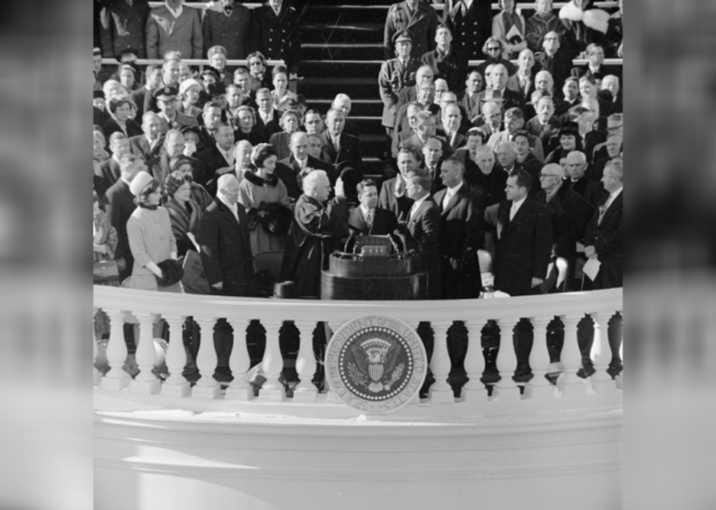1960: First Catholic president to win election