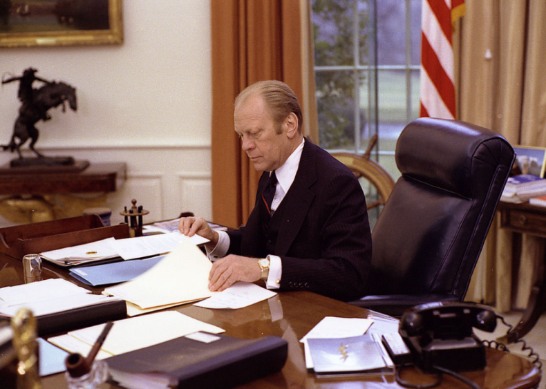 1974: First president never elected to presidency, vice-presidency